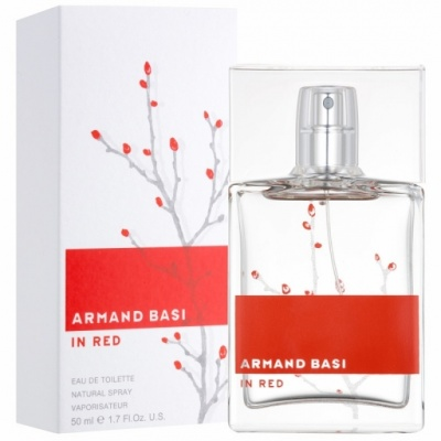 Armand Basi Basi In Red woman edt
